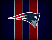 Patriots Posters - New England Patriots Poster by Joe Hamilton
