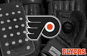 Philadelphia Flyers Prints - Philadelphia Flyers Print by Joe Hamilton