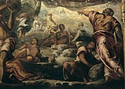 Israelites Prints - Robusti Jacopo Known As Tintoretto, The Print by Everett