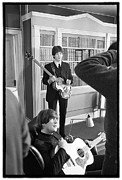 Beatles Photo Posters - Beatles HELP Poster by Emilio Lari