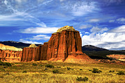 Skys Prints - Capitol Reef National  Park Cathedral Valley Print by Mark Smith