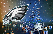 Philadelphia Posters - Philadelphia Eagles Poster by Joe Hamilton