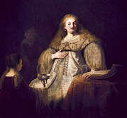 Youthful Photos - Rembrandt, Harmenszoon Van Rijn, Called by Everett