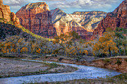 Zion National Park Framed Prints - Zion National Park Framed Print by Utah Images