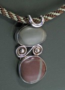 Organic Jewelry Originals - 154 A River Runs Through It by Dianne Brooks