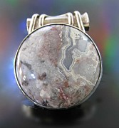 Gray Jewelry Originals - 159 Crazy Moon by Dianne Brooks