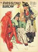 Pirates Drawings Posters - 1930s,uk,the Passing Show,magazine Cover Poster by The Advertising Archives
