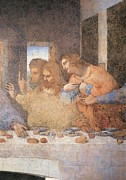 Last Supper Photo Posters - Italy, Lombardy, Milan, Refectory Poster by Everett