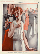 La Vie Parisienne 1920s France Cc Print by The Advertising Archives