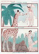 La Vie Parisienne  1931 1930s France Cc Print by The Advertising Archives