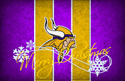 Vikings Art - Minnesota Vikings by Joe Hamilton