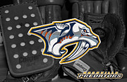Predators Photo Posters - Nashville Predators Poster by Joe Hamilton