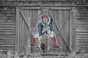 Barn Doors Art - New England Patriots by Joe Hamilton