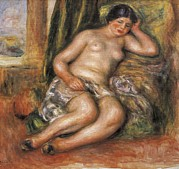 Odalisque Photos - Renoir, Pierre-auguste 1841-1919 by Everett