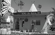 Icons Prints Framed Prints - Route 66 - Wigwam Motel Framed Print by Frank Romeo
