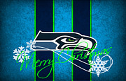 Nfl Prints - Seattle Seahawks Print by Joe Hamilton