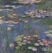 Waterlilies Art - Water Lilies by Claude Monet