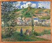 Camille Pissarro Framed Prints - France, Ile De France, Paris, Muse Framed Print by Everett