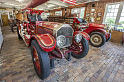 Fire Engines Posters - 1915 LaFrance Fire Engine Poster by Rich Franco
