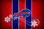 Buffalo Posters - Buffalo Bills Poster by Joe Hamilton