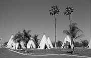 Foothill Prints - Route 66 - Wigwam Motel Print by Frank Romeo