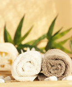 Mythja Posters - Spa setting  Poster by Mythja  Photography