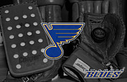 Skate Photos - St Louis Blues by Joe Hamilton