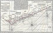Old Jewish Area Photos - 1794 Boulton and Anville Wall Map of Africa  by Paul Fearn