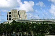 Palm Trees Prints - 17th Street Causeway Drawbridge Fort Lauderdale Florida Print by Amy Cicconi