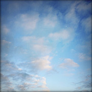 Blue Photos - Clouds by Les Cunliffe