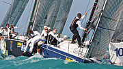 Sailboat Ocean Photos - Key West Race Week by Steven Lapkin