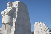 Martin Luther King Jr Prints - Martin Luther King Jr Memorial Print by Theodore Jones