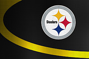 Pittsburgh Steelers Posters - Pittsburgh Steelers Poster by Joe Hamilton