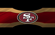 49ers Photo Posters - San Francisco 49ers Poster by Joe Hamilton