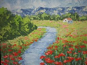 South Of France Painting Originals - South of France by Frederic Payet