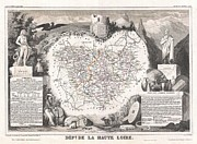 Paul Fearn - 1852 Levasseur Map of...