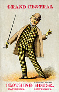 Historicimage Paintings - 1880 Mens Fashion by Historic Image