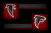 Nfl Prints - Atlanta Falcons Print by Joe Hamilton