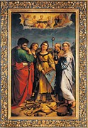 St John The Evangelist Framed Prints - Italy, Emilia Romagna, Bologna Framed Print by Everett