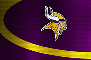 Vikings Posters - Minnesota Vikings Poster by Joe Hamilton