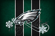 Offense Prints - Philadelphia Eagles Print by Joe Hamilton