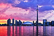 Business Art - Toronto skyline by Elena Elisseeva
