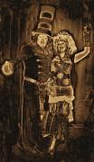 1900's Vintage Steampunk Print by Tisha McGee