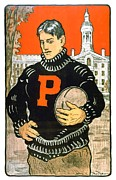 1901 Digital Art Posters - 1901 - Princeton University Football Poster - Color Poster by John Madison