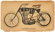 RG McMahon - 1903 Harley Davidson