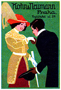 Historicimage Paintings - 1905 Prague Fashion Poster by Historic Image