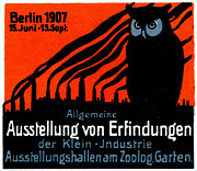 Berlin Germany Painting Posters - 1907 Berlin Exposition Poster Poster by Historic Image