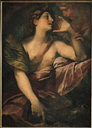St Mary Magdalene Framed Prints - Italy, Lombardy, Milan, Brera Art Framed Print by Everett