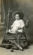 Tomboy Photo Prints - 1910 American Tomboy Print by Historic Image