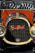 Pope Framed Prints - 1910 Pope Hartford Model T Grille Emblem Framed Print by Jill Reger